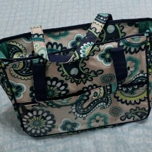 Thirty one paisley make up bag